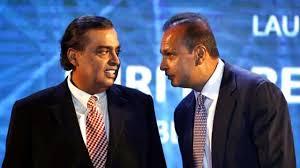 Complicated relationship with brother MukeshWith Dhirubhai & Mukesh Ambani