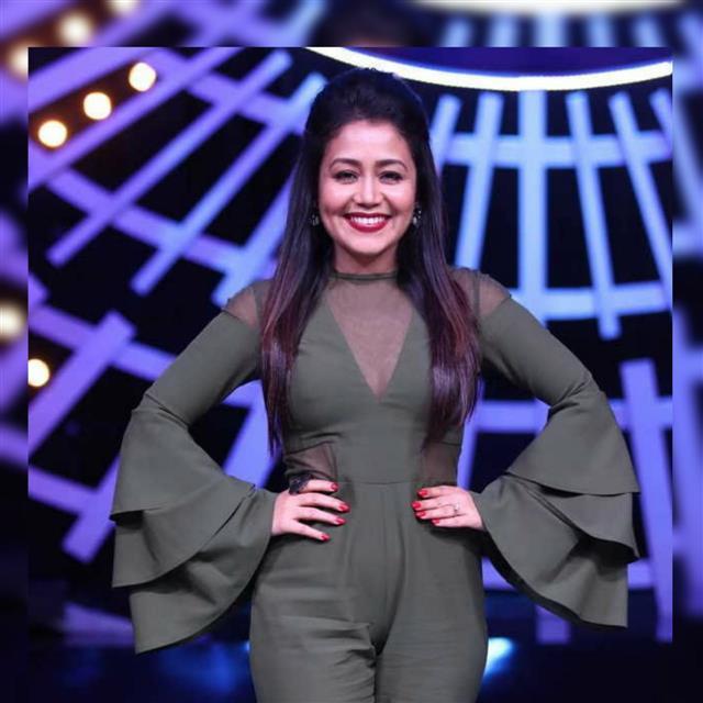 Neha Kakkar in a reality show