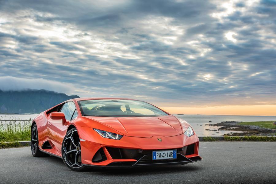 Hardik Pandya Car - Huracan EVO Lamborghini