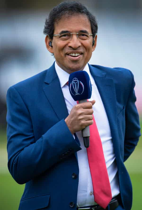 He is an outstanding cricket commentator