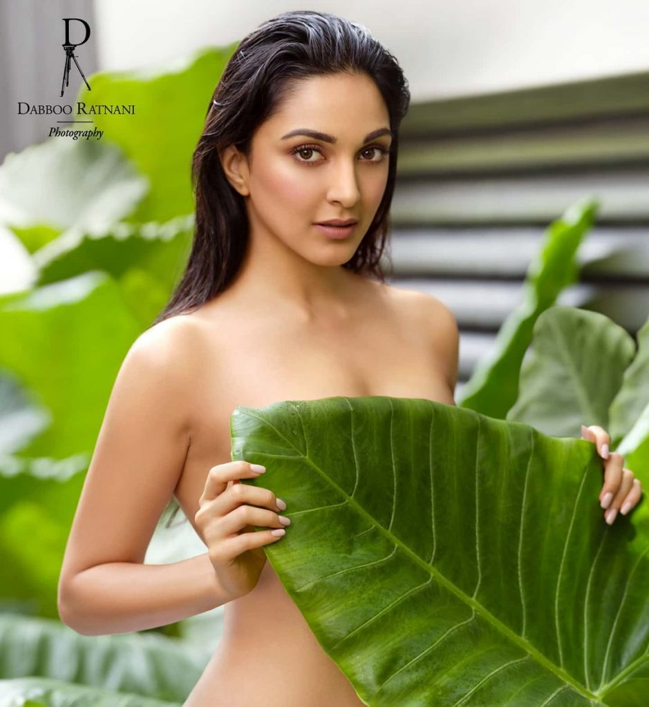 Kiara Advani Topless Daboo Ratnani Shoot