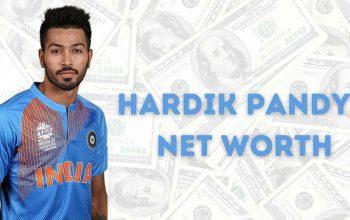 Hardik Pandya Net Worth in Rupees Header Image